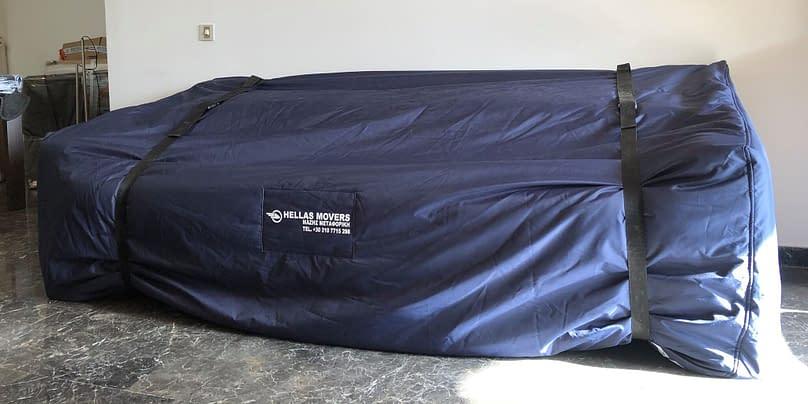 Συσκευασία μεγάλων αντικειμένων για μετακόμιση Χριστόφορος Μάζης Μεταφορές Μετακομίσεις Χριστόφορος | Hellas Movers