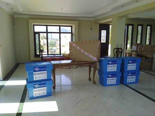 Πακετάρισμα ολόκληρου σπιτιού για μετακόμιση Χριστόφορος Μάζης Μεταφορές Μετακομίσεις Χριστόφορος | Hellas Movers