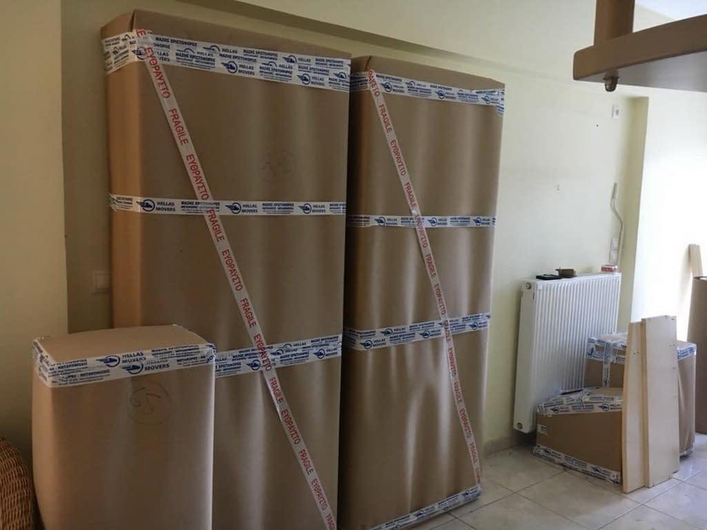 Συσκευασία επίπλων Μεταφορές Μετακομίσεις Χριστόφορος | Hellas Movers